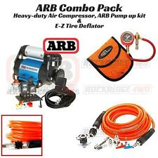 ARB Ultimate Wheeler Pack HD Air Compressor, E-Z Tire Deflator & Pump Up Kit 4x4