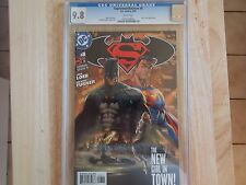 BATMAN/SUPERMAN #8 - 9.8 CGC GRADED! KARA ZOR-EL APPEARANCE!