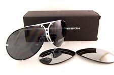 New Porsche Design Sunglasses P8478 8478 P White Interchangeable Lenses Men 69