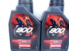 Aceite de Motor 2Liter Motul 800 2-Takt Factoría Line Road Carreras para