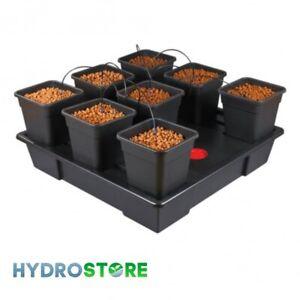 Wilma XL 8 Pot System. 11 Litre Pots. Hydroponics.
