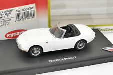 KYOSHO MUSEUM COLLECTION 1/43 TOYOTA 200GT CABRIOLET #03033W AVEC SA BOITE