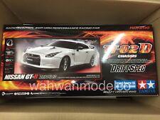 Tamiya 58623 1/10 RC Car TT-02D Drift Spec Chassis Nissan GT-R R35 w/ESC+LED