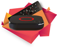 Mag 425A IPTV/OTT 4K STB AndroidTV 8 Wi-Fi 2.4/5GHz remoto BT con voz YouTube