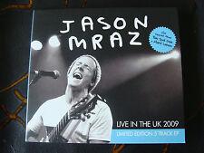 Slip Single: Jason Mraz : Live In The UK 2009 Limited Edition EP