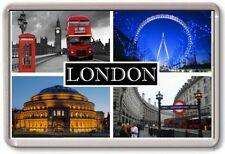 FRIDGE MAGNET - LONDON - Large - TOURIST 4 Black