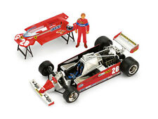 Ferrari 126CK 1981 - Plus Superserie - High Detail + Pilota 1:43 2010 P007 BRUMM