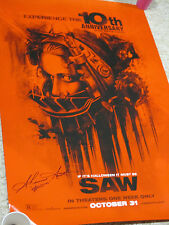 SAW AMANDA SHAWNEE SMITH AUTOGRAPHED SIGNED POSTER EXACT SIGNING PICTURE PROOF
