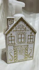 Bath & Body Works Foaming Soap Container Holder Gingerbread House Christmas 2019