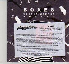 (DI400) Boxes, Wake Up Wake Up / Sharks - 2012 DJ CD