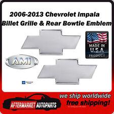 06-13 Chevrolet Impala Polished Billet Bowtie Grille & Rear Emblem AMI 96123P