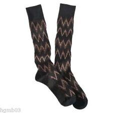 Missoni GM00CMU5236 0001 Brown//Olive Knee Length Socks for Womens