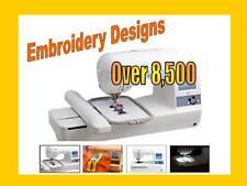 Pes Brother Designs For Brother máquinas de bordar Biblioteca de diseño de 8,500
