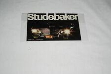 1964 Studebaker Brochure