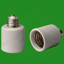 10 x E27 Edison Tornillo para Goliath E40 Cerámica Luz enchufe Adaptador