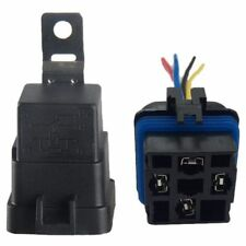 40 Amp Waterproof Relay Switch Harness Set - 12V DC 5-Pin SPDT Automotive Y6S7