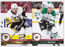 17-18 Upper Deck Phil Kessel /100 UD Exclusives Penguins 2017