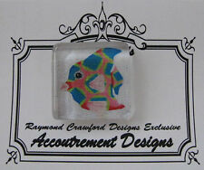 Accoutrement Designs Fish Needle Minder Magnet Raymond Crawford #1