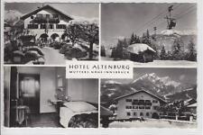 AK Mutters, Hotel Altenburg, Seilbahn, 1968
