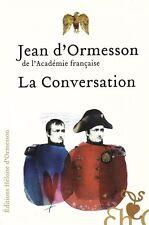 JEAN D'ORMESSON LA CONVERSATION + PARIS POSTER GUIDE