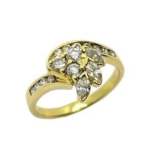 Michael Hill Diamond 18ct Gold Ring (VAL $5490)