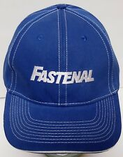 FASTENAL Industrial Safety Construction Supplies ADVERTISING LOGO Blue Hat Cap