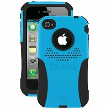 Brand New Trident Aegis Phone Case for Apple iPhone 4/4s + Free Screen protector