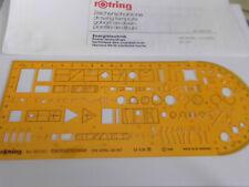 Rotring Schablone Energietechnik  Art.- Nr.852742 OVP