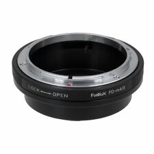 Lens Mount Adaptercanon Fd Lenses To Fit On A Micro 4/3 (Mft) System Camera Body
