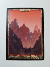 Mountain - Full Art - Unhinged (Magic/mtg) Land