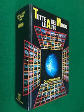 TAM 1988 TUTTE LE AUTO DEL MONDO Quattroruote Ed Domus - Grande Formato