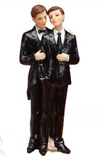 Gay Wedding Groom Cake Topper Party Supplies Couple Centerpiece Favor Men Gifts