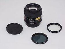 Minolta 85mm f/2 MD Rokkor-X  telephoto lens. Minolta X-700, Sony A7s, micro 4/3