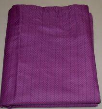 "(2) Ellison Pillow Shams ~ Tone on Tone Purple ~ 23"" x 40"" King **NEW**"