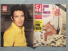 Ciné Revue n 37 1969 Giovanna Ralli Jacques Charrier Bulle Oger Sharon Tate