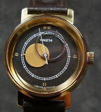 Watch RAKETA Kopernik Sovied Russian watch OLD STOCK.35 mm Black  dial