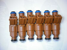 Set of Six ( 6 ) Flow Matched Refurbished Fuel Injectors # 0280155831 for Volvo