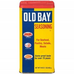 Old Bay Seasoning for Seafood, Poultry, Salads, Meats 16 Ounce