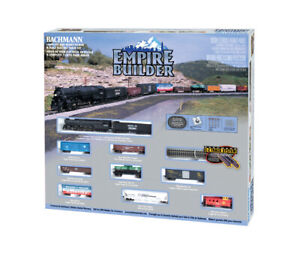 Bachmann 24009 N Scale Empire Builder Electric Train Set With E-Z Track System