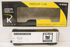 K-Line K762-8029 Black Cat Candy Co. Reefer LN/Box
