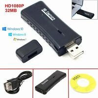 Mini USB 2.0 HD HDMI Video Capture VGA Card For PC Windows XP/Vista/ Win7/8/10