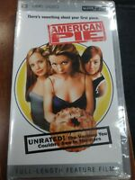 New American Pie UMD 2005  For PSP Unrated Playstation Movie Freeshipping
