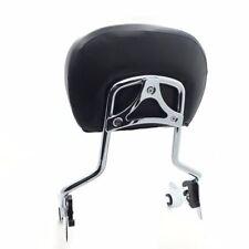 Adjustable Backrest Sissy Bar w/ pad For Harley Touring FLHR FLHX Screamin Eagle