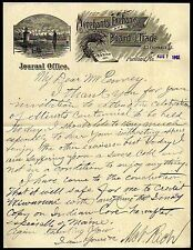 1902 Portland ME Merchants Exchange & Board of Trade BEAUTIFUL RARE Letter Head