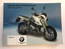 BMW Manuale d'uso il libretto uso e manutenzione hp2 MEGAMOTO HP 2 ITALIAN