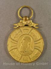Belgien: Regenschafts Medaille König Leopold II. 1865-1905 , Goldbronze, 87973