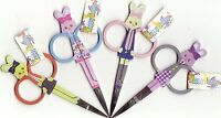 "Bunny Rabbit Usagi straight point  Embroidery Scissors 5"" Snips CHOOSE  colours"