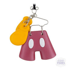 Disney Parks Mickey Mouse Costume on Hanger Christmas Ornament Icon Pants