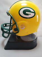 Green Bay Packers Plastic Helmet Bank Pre-owned