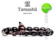 BRACCIALE ORIGINALE TIBETANO TAMASHII ONICE SATINATO MATT - PIETRE NATURALI